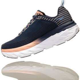 Hoka One One Bondi 6 Løbesko Damer, mood indigo/dusty pink